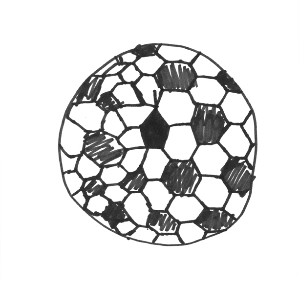 Soccer Ball Drawing How to Draw a S...