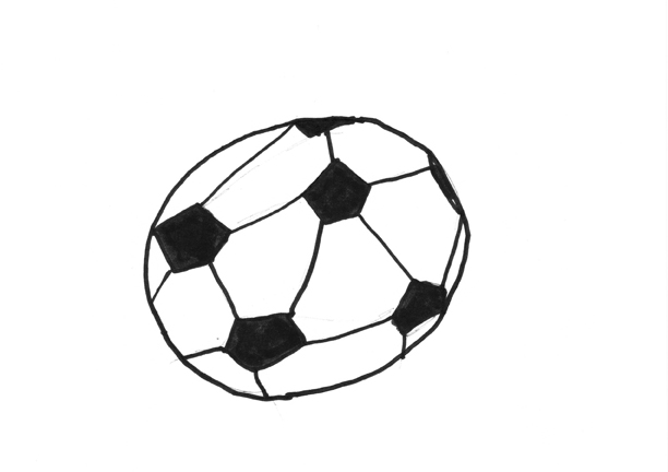 How to Draw a Soccer Ball – A Project by Micah Lexier for the Inc