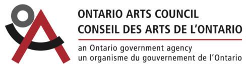 The logo of the Ontario Arts Council